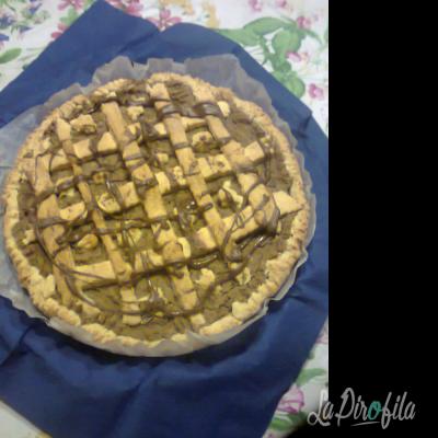 Torta Con Crema Di Castagne