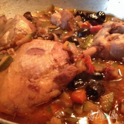 Pollo Con Olive Nere