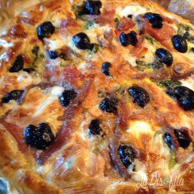 Torta Salata Olive E Mortadella
