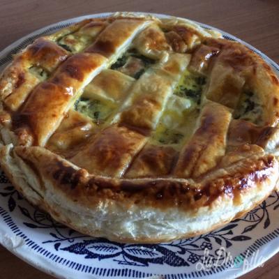 Torta Salata Radicchio E Ricotta